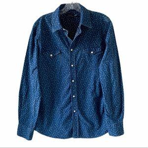 Polo by Ralph Lauren Shirts - Polo Ralph Lauren Western Shirt SZ L